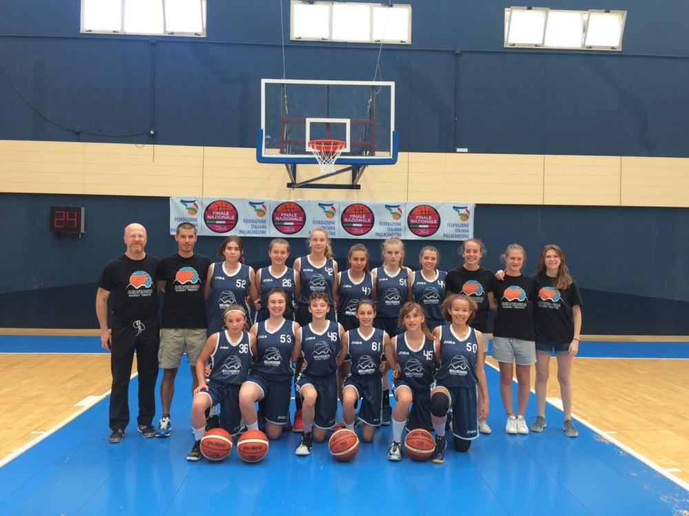 Le Under 14 di Andrea Balduzzi alle Finali Nazionali di Cagliari